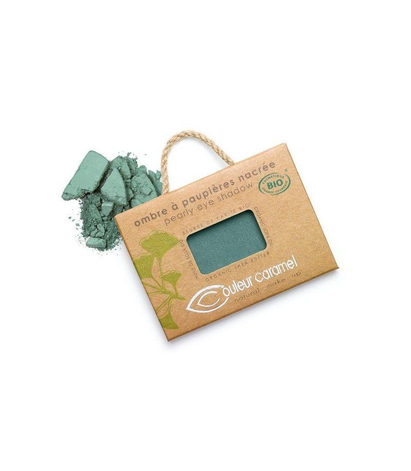 Couleur Caramel Lidschatten n°050 - blau grün perlmutt - refill
