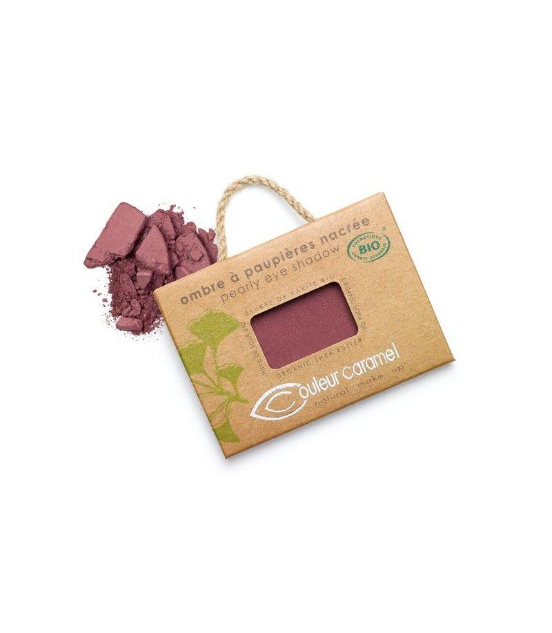Couleur Caramel Lidschatten n°053 - rot braun perlmutt - refill