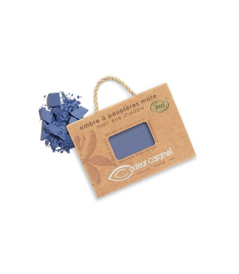 Couleur Caramel Lidschatten n°076 - marineblau matt - refill