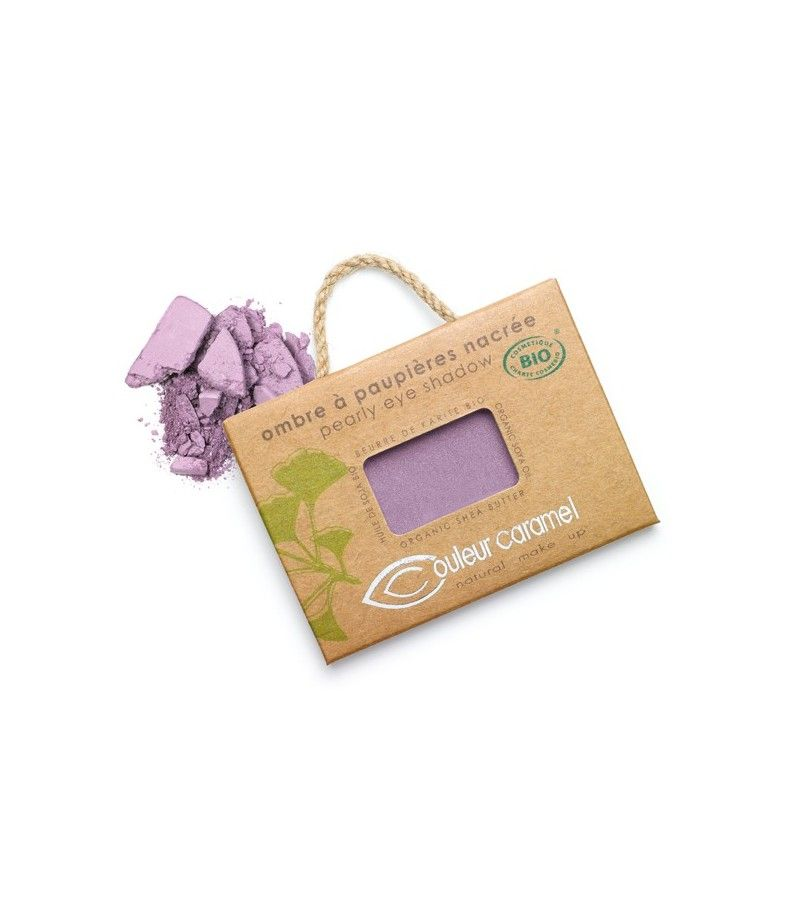 Couleur Caramel Lidschatten n°088 - aubergine perlmutt - refill
