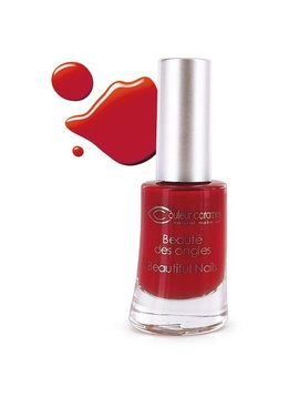 Couleur Caramel Nagellack n°42 - weihnachsstern-rot