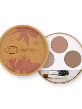Couleur Caramel Augenbrauen-Kit n°928 - Blondinen