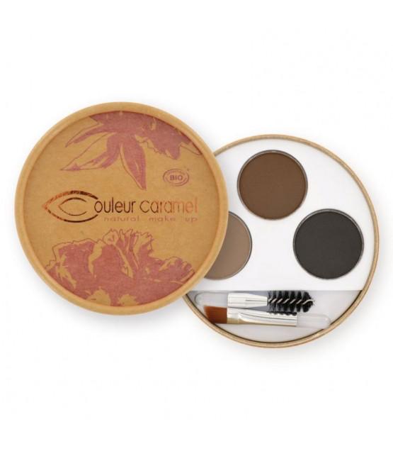 Couleur Caramel Augenbrauen-Kit n°929 - Braunhaarige