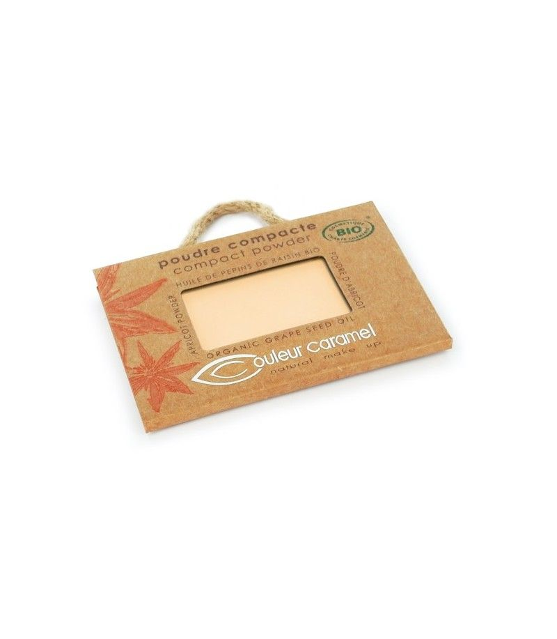 Couleur Caramel Kompaktpuder n°002 - hell beige - refill