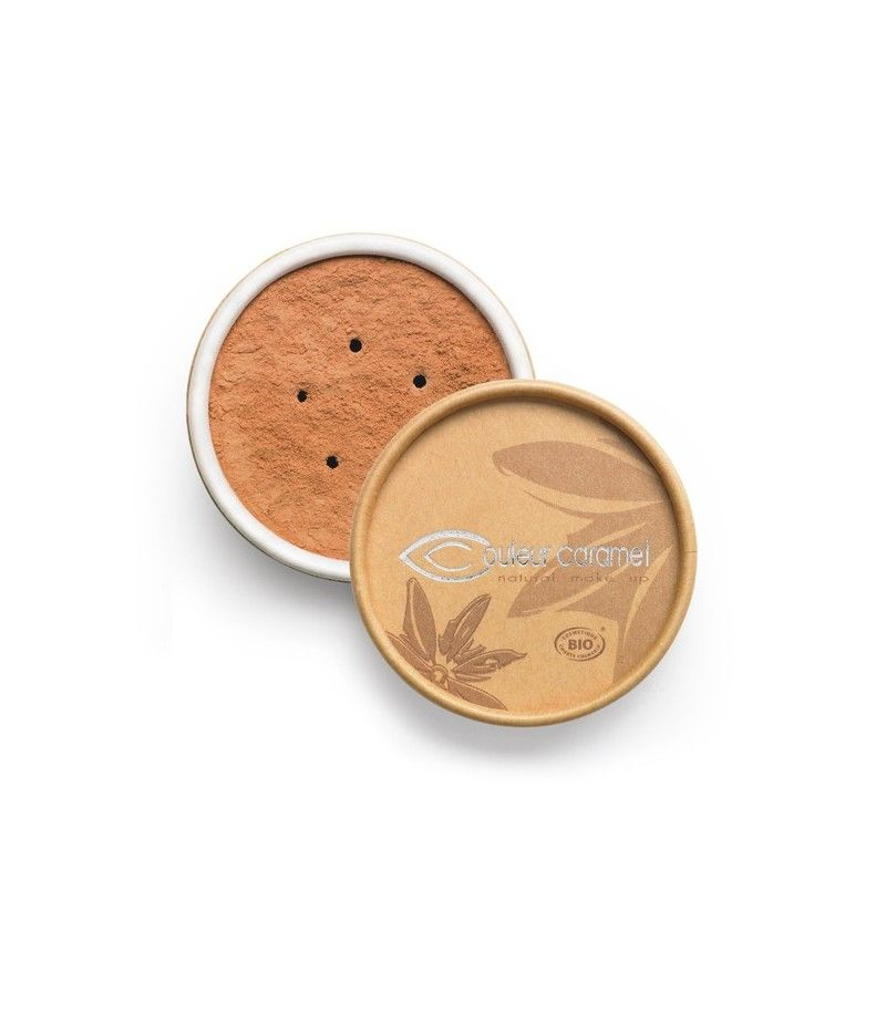 Couleur Caramel Bio Mineral Make-Up n°04 - beige gebräunt
