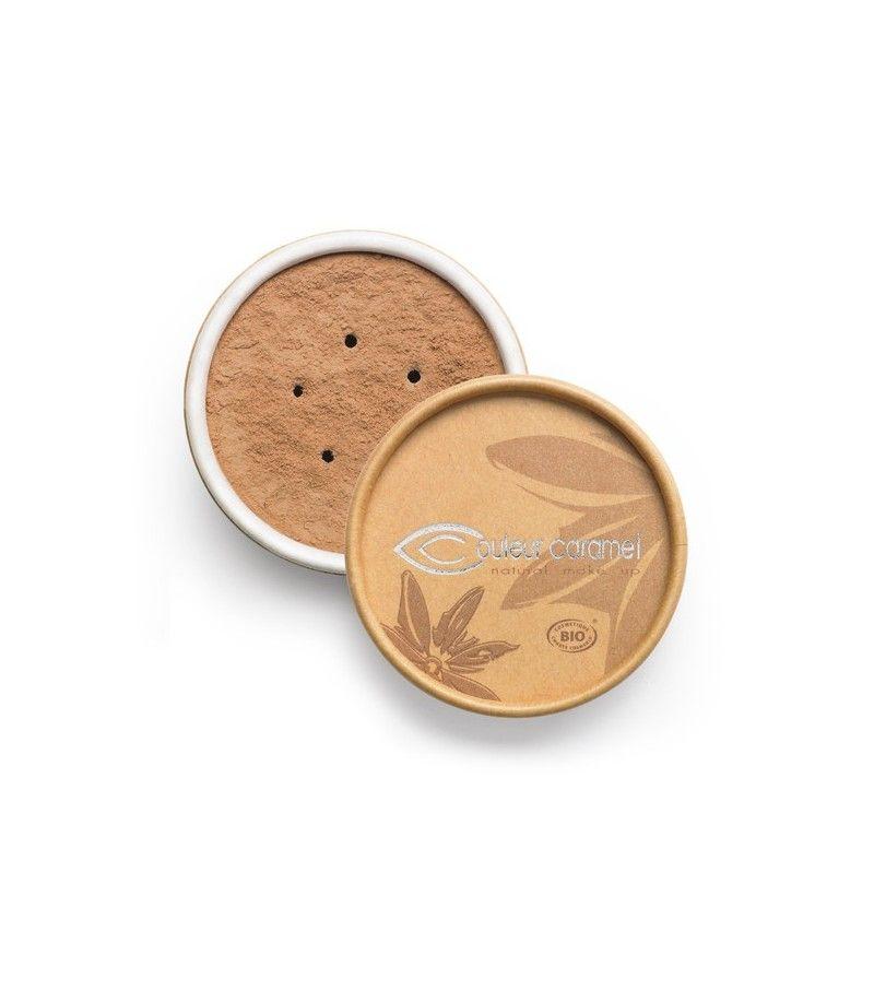 Couleur Caramel Bio Mineral Make-Up n°07 - braun gebräunt