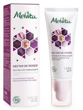 Melvita Nectar de Roses - Nachtcreme - regenerierend