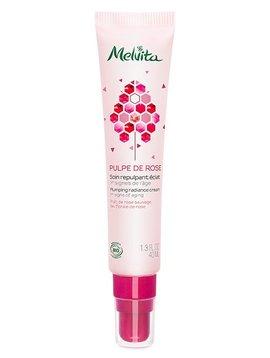 Melvita Pulpe de Rose - Gesichtspflege - glättende Creme für strahlende Haut
