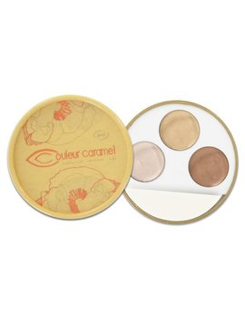 Couleur Caramel Look 17/18 Winter - Trio Highlighter - rose, beige, warm gold - Inspiration Ethnique