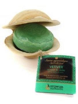 Karawan Authentic Ayurveda Seife Vetivier / Calamus Ceder