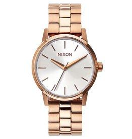 Nixon Nixon, Small Kensington, Rose Gold/White