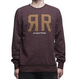 RVLT RVLT, 2351, Sweat Print, Bordeaux, S