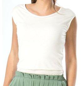 Skunkfunk Skunkfunk, Uldegonde T-Shirt, white, L