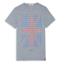 Ben Sherman Ben Sherman, Union Collar T-Shirt, Winds Marl, L