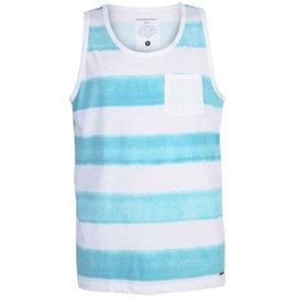 armedangels Armedangels, Casper Aqua Stripes Tank, Aqua blue, L