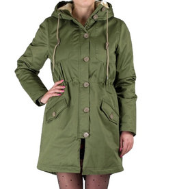 Rules by Mary, Debbie Parkas, Khaki Green, XS