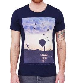 Minimum Minimum, Elias, T-Shirt, navy, S