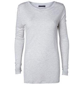 Minimum Minimum, Lavia Blouse, White/Grey, XS