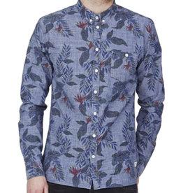 Minimum Minimum, Reggie Shirt, Medium Blue, XL
