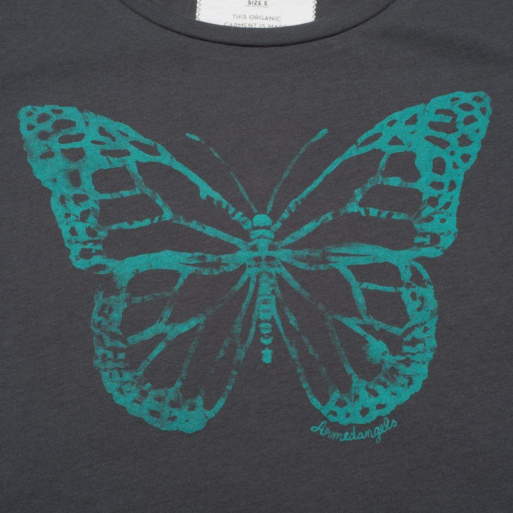 armedangels Armedangels, Uma Batik Butterfly, acid black, XS