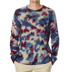 RVCA RVCA, Blotter Dye Sweater, Multi, L