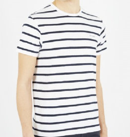 Ben Sherman Ben Sherman, T-Shirt, Bright White/Stripe, L