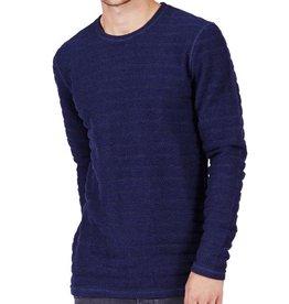 Minimum Minimum, Greenville Sweater, dark iris melange, S