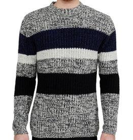 Minimum Minimum, Tempa Knit, Black/Grey Melange, XL