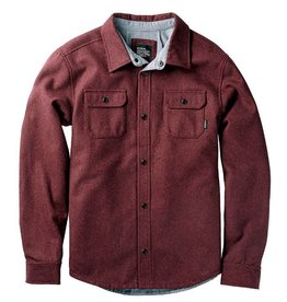 Nixon NIXON, Corporal Wool Jacket, Burgundy Heather, L