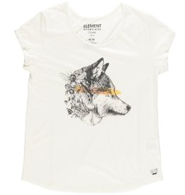 Element Clothing Element, Wolf on the road, ivory, L