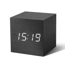 Gingko, ClickClock Cube, black
