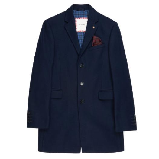Ben Sherman Ben Sherman, Covert Coat, Navy Blazer, S