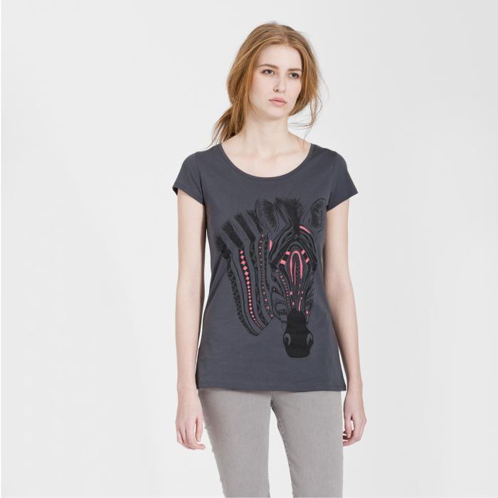 armedangels Armedangels, Uma Structure Zebra, black, S