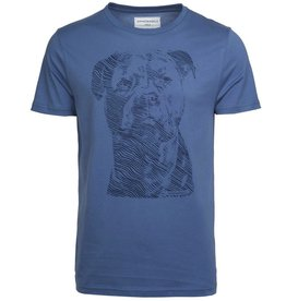 armedangels Armedangels, James City Dog, dove blue, S