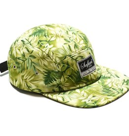 Safari Safari, Floral 5-Panel, Green