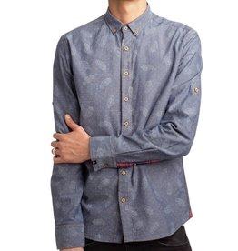 Einstoffen Einstoffen, Tuco Shirt, blue, L