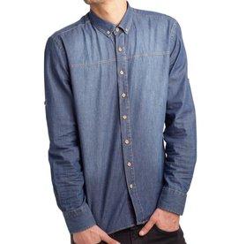 Einstoffen Einstoffen, Harmonica Shirt, blue, M/L