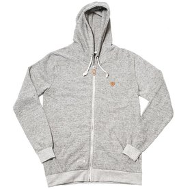 Safari Safari, Twine Zip Hoody, grey heather, L