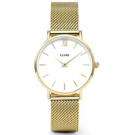 Cluse Cluse, Minuit Mesh, gold/white