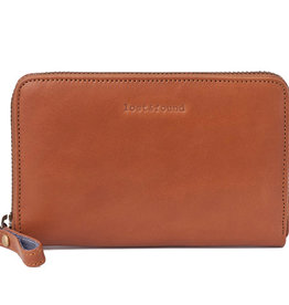 Lost & Found Accessories Lost & Found, Mittleres Reissverschluss Portemonnaie Caramel