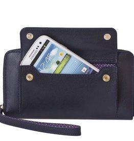 Lost & Found Accessories Lost & found, Smartphone wallet, navy