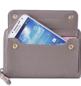 Lost & Found Accessories Lost & found, Smartphone Wallet medium, Pale Stone