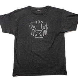 Safari Safari, OG Outlines T-Shirt, black snow, L