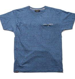 Safari Safari, Hidden T-Shirt, blue melange, M