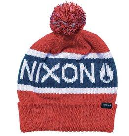 Nixon Nixon, Teamster Beanie, red