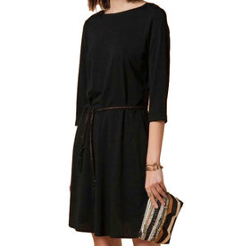 Sessun Sessun, Selina Dress, shiny black, XS