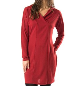 Skunkfunk Skunkfunk, Lorelai Dress, dark red, L