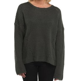 Element Clothing Element, Farewell Jumper, charocal, L