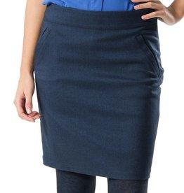 Skunkfunk Skunkfunk, Redene Skirt, navy blue, L