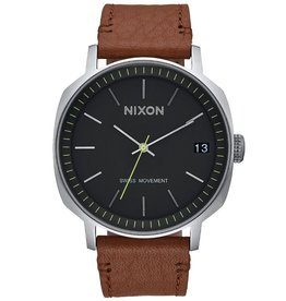 Nixon Nixon, Regent II Leather, black